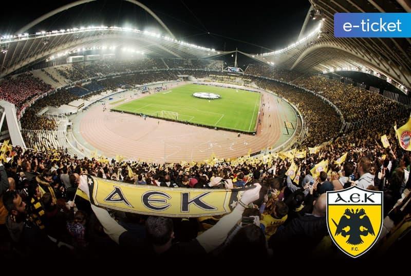 AEK F.C. SEASON TICKETS 2018-2019 dbe07a59a0a